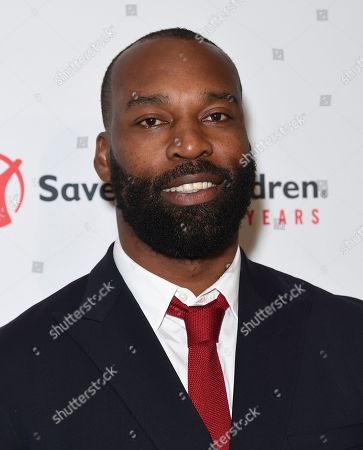 "Baron Davis arrives at the Save the Children ""Centennial Celebration: Once in a Lifetime"" event, at The Beverly Hilton Hotel in Beverly Hills, Calif"