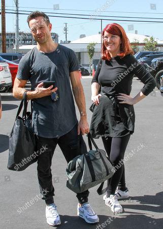 Pasha Pashkov and Kate Flannery