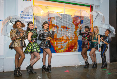 Editorial photo of Rubik's Cube Pop-Up Experience, London, UK - 01 Oct 2019