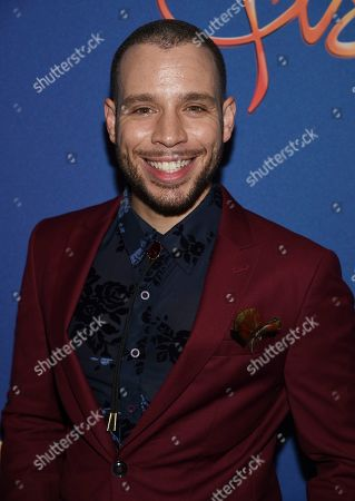 "Robin De Jesus attends ""Freestyle Love Supreme"" Broadway opening night at the Booth Theatre, in New York"