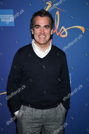 """Brian d'Arcy James attends """"Freestyle Love Supreme"""" Broadway opening night at the Booth Theatre, in New York"""