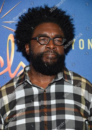 """Stock Image of Questlove attends """"Freestyle Love Supreme"""" Broadway opening night at the Booth Theatre, in New York"""