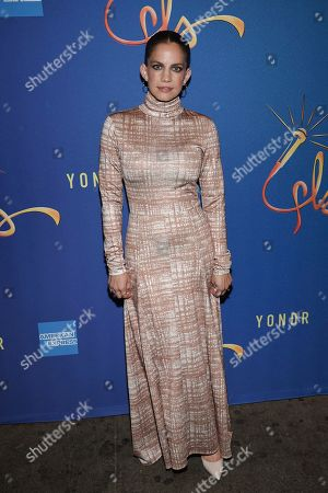 """Anna Chlumsky attends """"Freestyle Love Supreme"""" Broadway opening night at the Booth Theatre, in New York"""