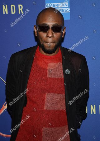 """Hip-hop recording artist Mos Def attends """"Freestyle Love Supreme"""" Broadway opening night at the Booth Theatre, in New York"""