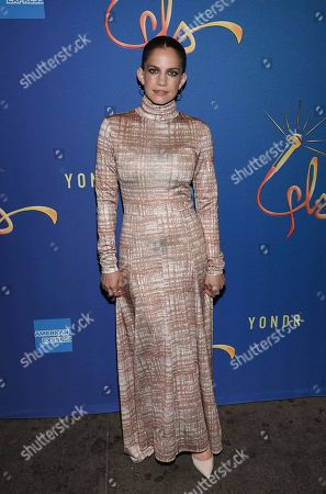 """Stock Photo of Anna Chlumsky attends """"Freestyle Love Supreme"""" Broadway opening night at the Booth Theatre, in New York"""