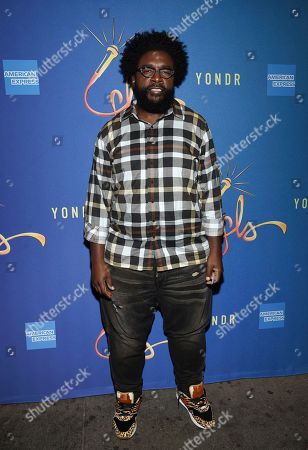 """Questlove attends """"Freestyle Love Supreme"""" Broadway opening night at the Booth Theatre, in New York"""
