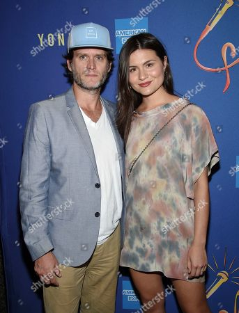 "Steven Pasquale, Phillipa Soo. Actors Steven Pasquale and wife Phillipa Soo attend ""Freestyle Love Supreme"" Broadway opening night at the Booth Theatre, in New York"