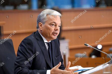 Hearing of Didier Reynders, Commissioner-designate, Justice