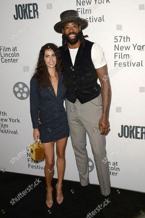 Bettheny Jordon and Deandre Jordan