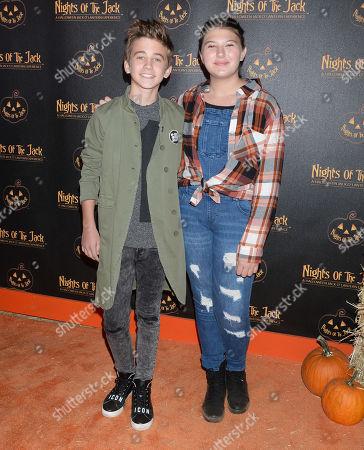Parker Bates and Mackenzie Hancsicsak