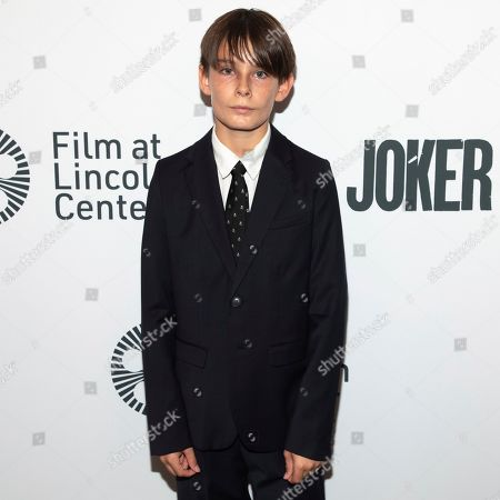 "Dante Pereira-Olson attends the ""Joker"" premiere at Alice Tully Hall during the 57th New York Film Festival, in New York"