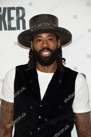 "DeAndre Jordan attends the ""Joker"" premiere at Alice Tully Hall during the 57th New York Film Festival, in New York"