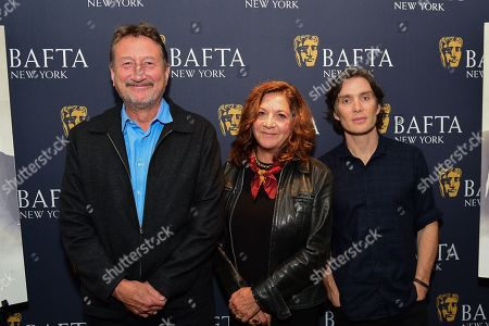 Steven Knight, Caryn Mandabach and Cillian Murphy