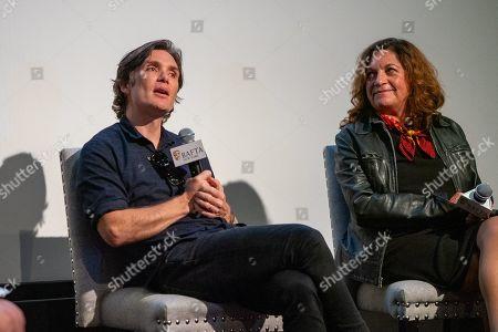 Cillian Murphy and Caryn Mandabach
