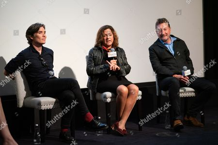 Stock Photo of Cillian Murphy, Caryn Mandabach and Steven Knight