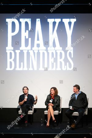 Stock Picture of Cillian Murphy, Caryn Mandabach and Steven Knight