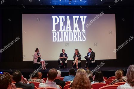 Editorial image of Exclusive - 'Peaky Blinders' BAFTA TV Show screening, Q&A, New York, USA - 02 Oct 2019