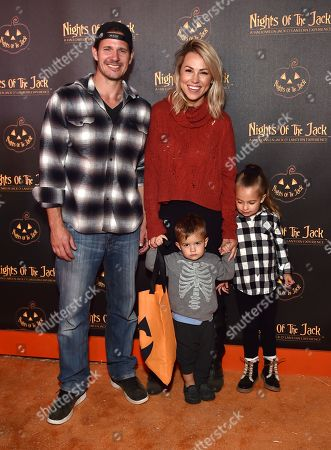 Stock Photo of Jessica Hall and family