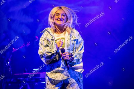Editorial photo of Julia Michaels in concert at Fabrique, Milan, Italy - 02 Oct 2019