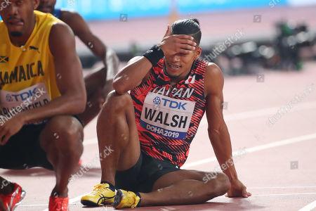 Julian Jrummi Walsh (JPN) - Athletics : IAAF World Championships Doha 2019 Men's 400m Semi-final