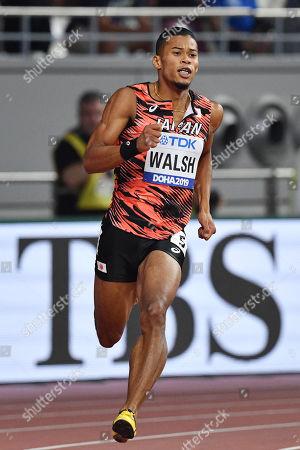 Julian Jrummi Walsh (JPN) - Athletics : IAAF World Championships Doha 2019 Men's 400m at Khalifa International Stadium in Doha, Qatar.