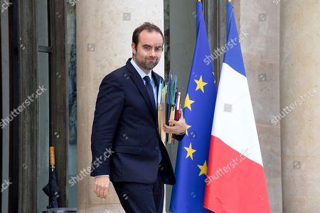 French Junior Minister for territorial communities Sebastien Lecornu