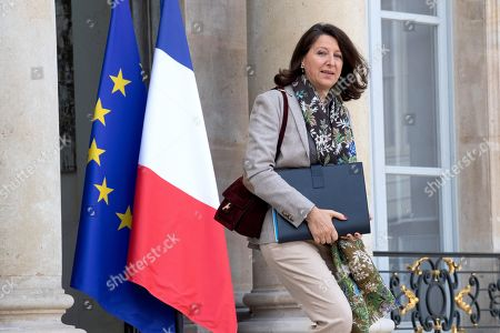 Stock Picture of French Health and Solidarity Minister, Agnes Buzyn