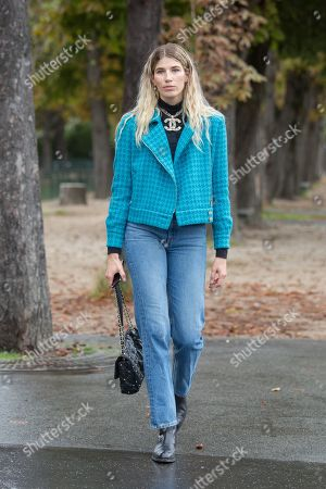 Editorial picture of Street Style, Spring Summer 2020, Paris Fashion Week, France - 01 Oct 2019