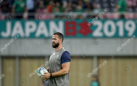 Ireland vs Russia. Ireland defence coach Andy Farrell ahead of the game
