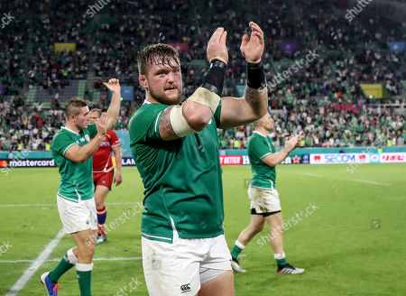 Ireland vs Russia. Ireland's Andrew Porter after the game