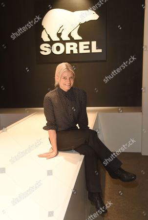 Kate Young sits front row at the SOREL Mile-Long Runway styled by Kate Young, showcasing SOREL Fall 19 Collection on 100 NYC women, held at Highline Stages, New York, NY @SORELfootwear #MILELONGRUNWAY #SORELstyle