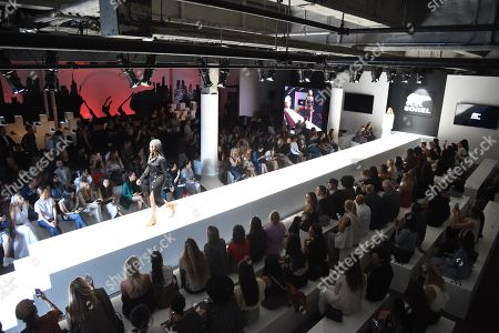 Atmosphere during the SOREL Mile-Long Runway event styled by Kate Young, showcasing SOREL Fall 19 Collection on 100 NYC women, held at Highline Stages, New York, NY @SORELfootwear #MILELONGRUNWAY #SORELstyle