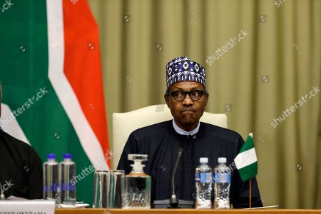 Editorial image of Nigeria, Pretoria, South Africa - 03 Oct 2019