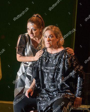Soraya Mafi as Love,  Alice Coote as Orpheus