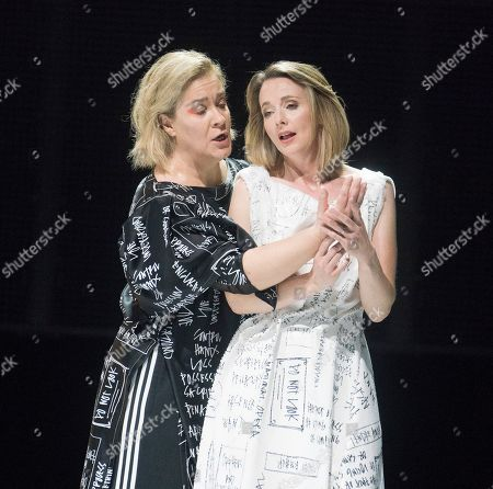 Stock Photo of Alice Coote as Orpheus, Sarah Tynan as Eurydice