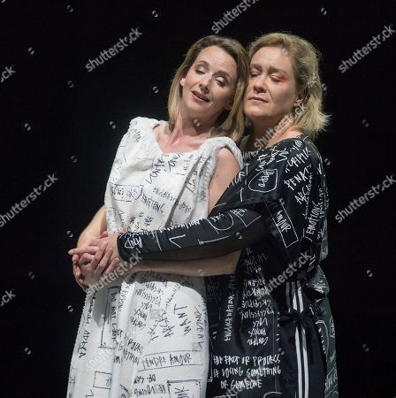 Stock Picture of Alice Coote as Orpheus, Sarah Tynan as Eurydice