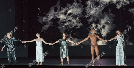 Alice Coote as Orpheus, Soraya Mafi as Love, Sarah Tynan as Eurydice