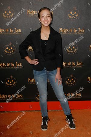 Editorial image of 'Nights Of The Jack's' Friends & Family VIP Preview Night, Arrivals, King Gillette Ranch, Los Angeles, USA - 02 Oct 2019
