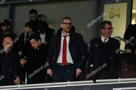 Stock Photo of Arsenal academy manager Per Mertesacker prior to the UEFA Europa League match between Arsenal and Standard Liege at the Emirates Stadium in London, UK - 3rd October 2019