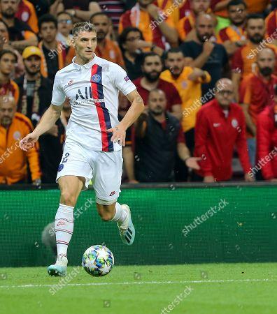 Editorial picture of Galatasaray v Paris Saint Germain, Champions League football match, Istanbul, Turkey - 01 Oct 2019