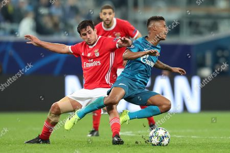 Editorial picture of FC Zenit v FC Benfica UEFA Champions League football match, Saint Petersburg, Russia - 02 Oct 2019