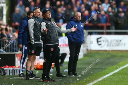 Joey Barton, manager of Fleetwood reacts
