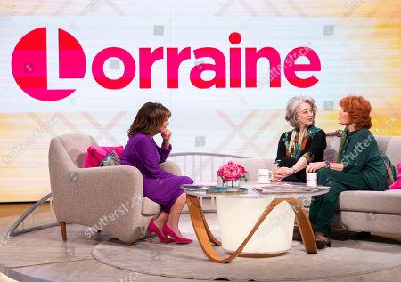 Lorraine Kelly, Maureen Lipman and Rula Lenska
