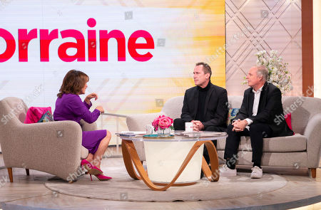 Stock Image of Lorraine Kelly, Andy McCluskey and Paul Humphreys