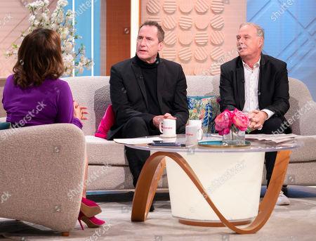 Lorraine Kelly, Andy McCluskey and Paul Humphreys