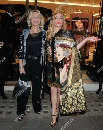 Editorial picture of Dolce & Gabbana party, London, UK - 03 Oct 2019