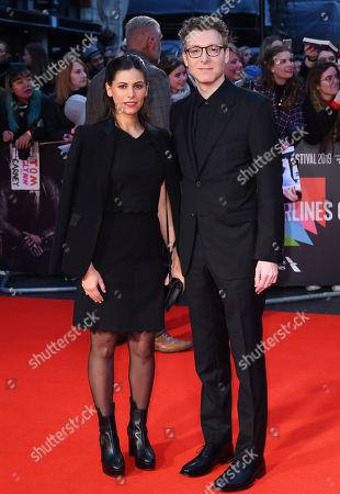 Stock Picture of Caitlin Sullivan and Nicholas Britell