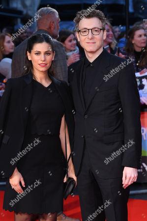 Stock Photo of Caitlin Sullivan and Nicholas Britell