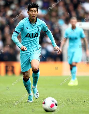 Heung-Min Son of Tottenham Hotspur.