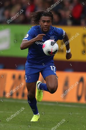 Stock Picture of Alex Iwobi of Everton